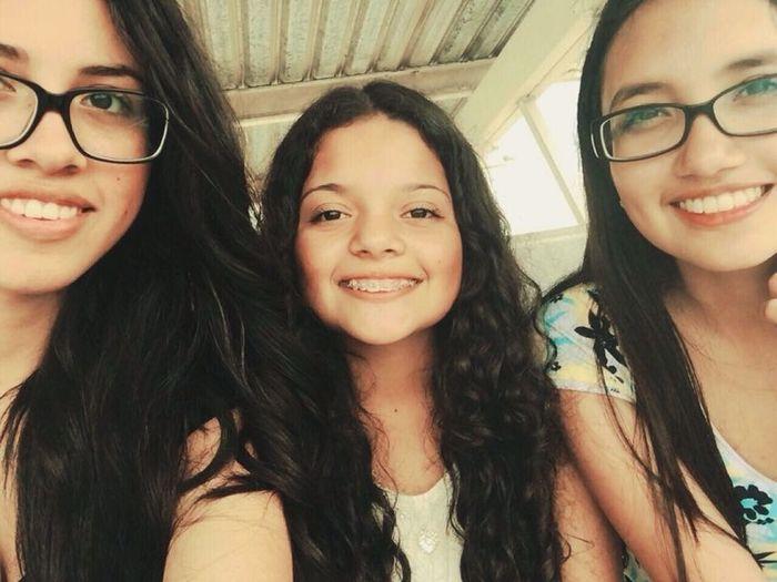 Friends Selfie Happy People Girls
