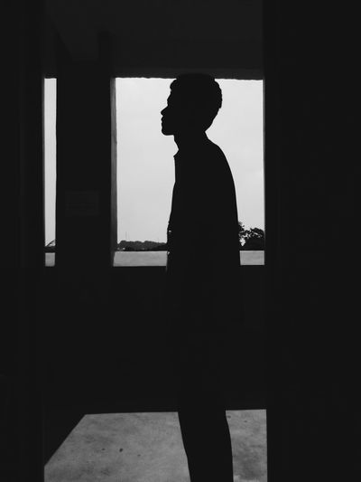 One Person One Man Only Side View Day Shadows And Backlighting Shadow Photography The Week On EyeEm