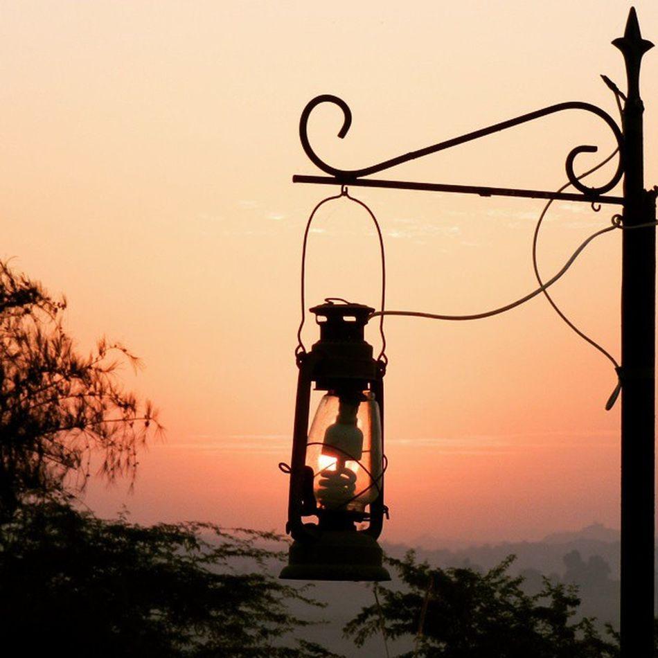 Sun in a lantern Kutchsafarilodge Kutch Rudramata Nikon