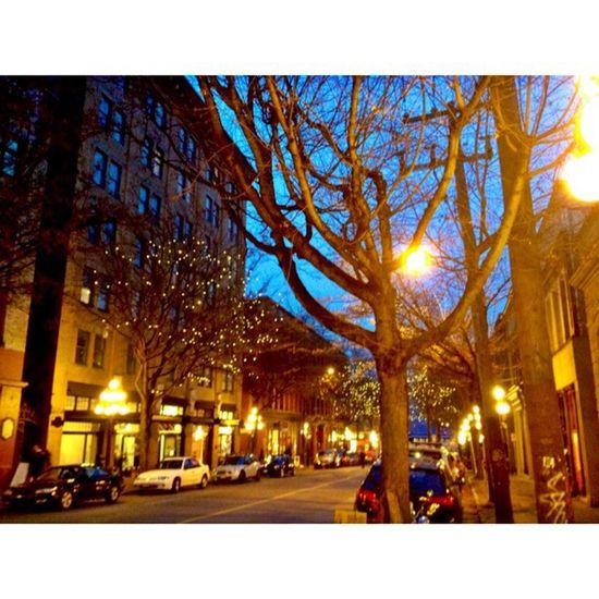 Gastown Beautiful Lightup Streetphotography