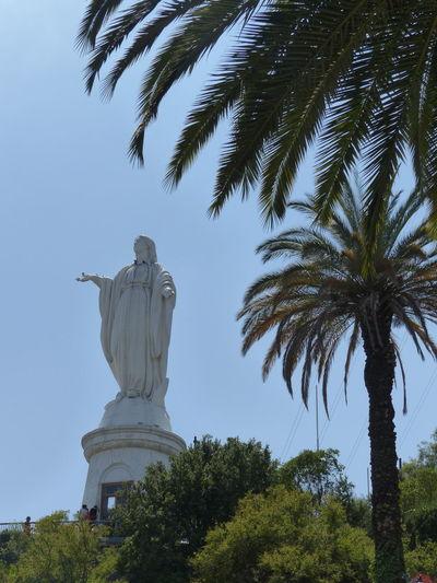 Cerro San Cristóbal Santiago De Chile Virgen De La Inmaculada Concepcion