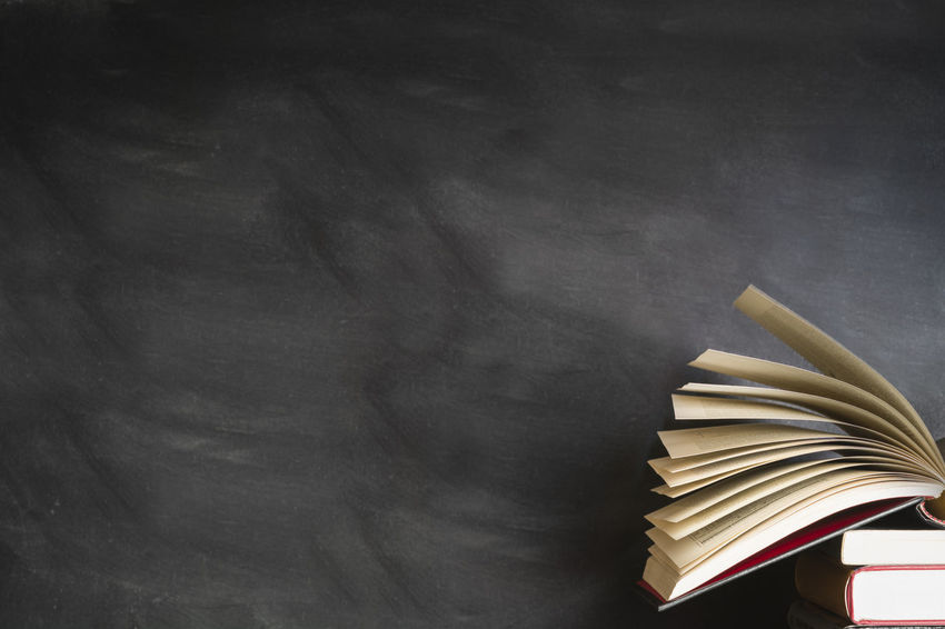 An open book front of a blank black board Books Educate Learning Reading Teaching Back To School Backgrounds Black Blackboard  Blank Board Book Chalk Chalkboard Classroom Concept Education Knowledge Learning Literature School Stack Study Studying University