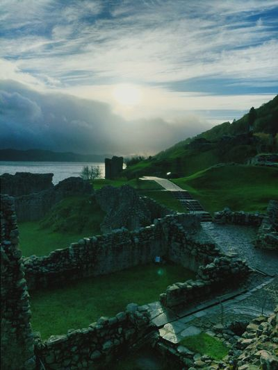 Scotland Highlands Ruins Of A Castle Ruins Travel Destinations No People Outdoors Landscape Mountain Vacations Scenics Sky