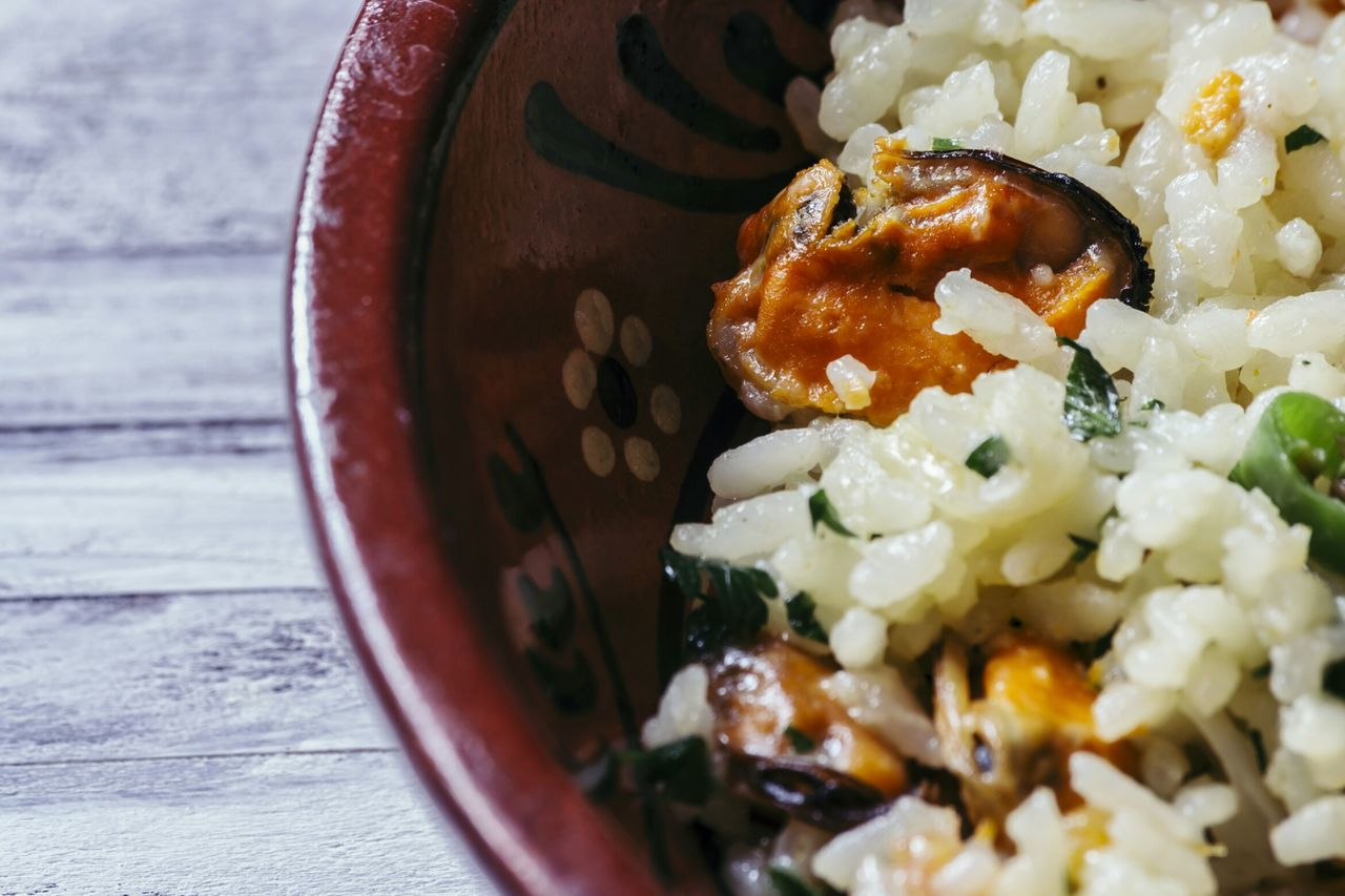 Risotto Ai Frutti Di Mare Seafoodporn Seashells Foodporn Foodphotography SeafoodLover Traditional Food Mediterranean Food