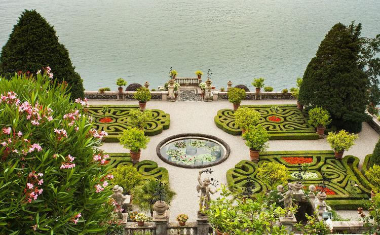 Borromeo's Palace Botanical Gardens Flowers,Plants & Garden Isolabella Italian Gardens Lake Maggiore Italy Stresa Italy Architecture