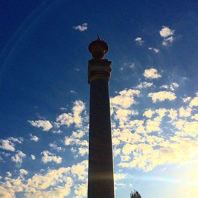 ⬆️↕️ Rome Roma Sunset Love Pincio Villaborghese Volemosebene Colonna Colors Blue
