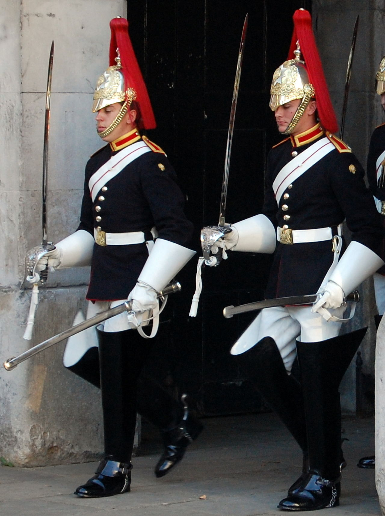 Armed Forces Army Army Helmet Army Soldier Day Full Length Headwear Helmet History London Travel Men Military Military Parade Military Uniform Occupation Outdoors People Protection Real People Shield Standing Togetherness Two Soldiers Uniform Weapon