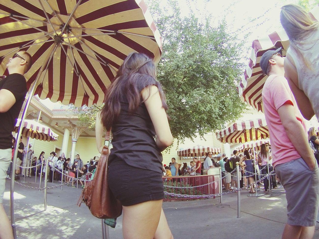 Disney Fishtail Braid Black Shorts