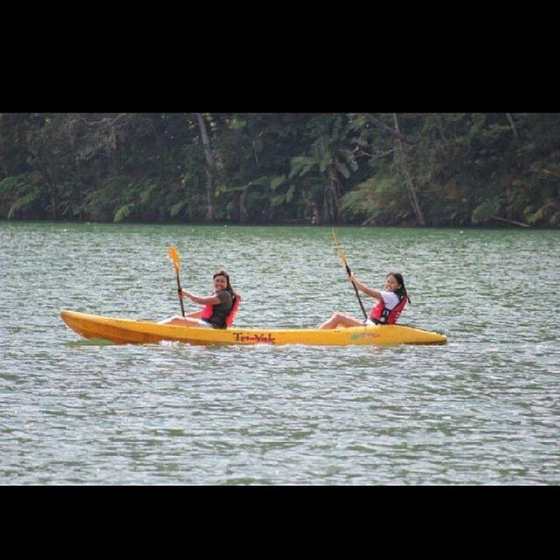 The cause of all pama-ul. Kayaking Manol SundayFunday Withthefamily sisterlovin