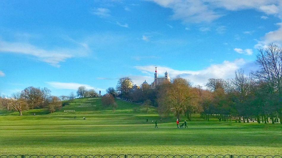 Greenwhich Latespring London World Nature Bright Sky Green