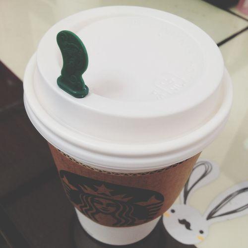 다봉이와 함께한 라떼한잔! Cafelatte