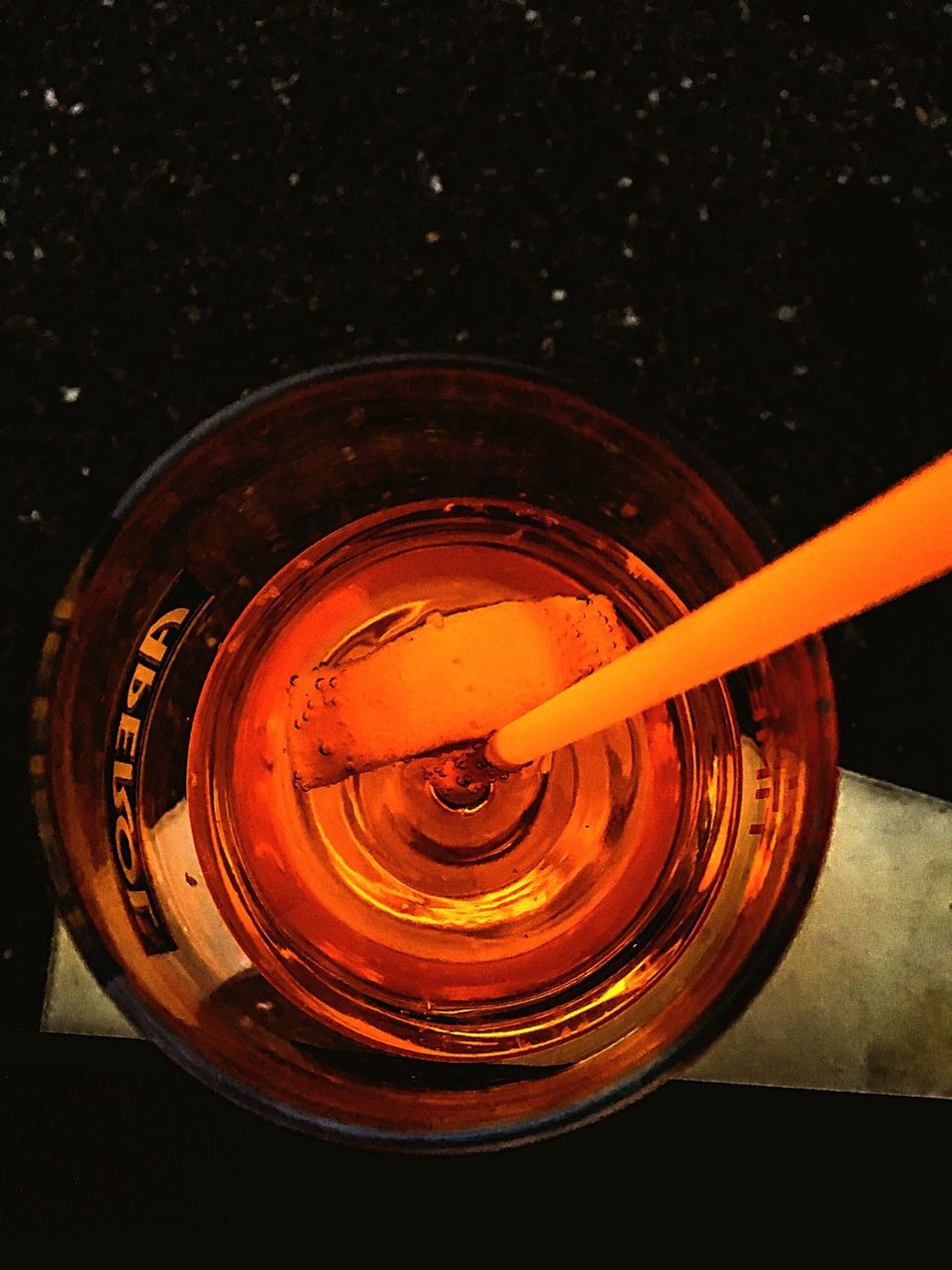 My coctail Close-up Orange Color Vibrant Color Glass Coctail Hour Summertime Drink Party Time