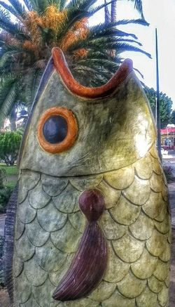 Eyefish HDR Mexico Sculpture
