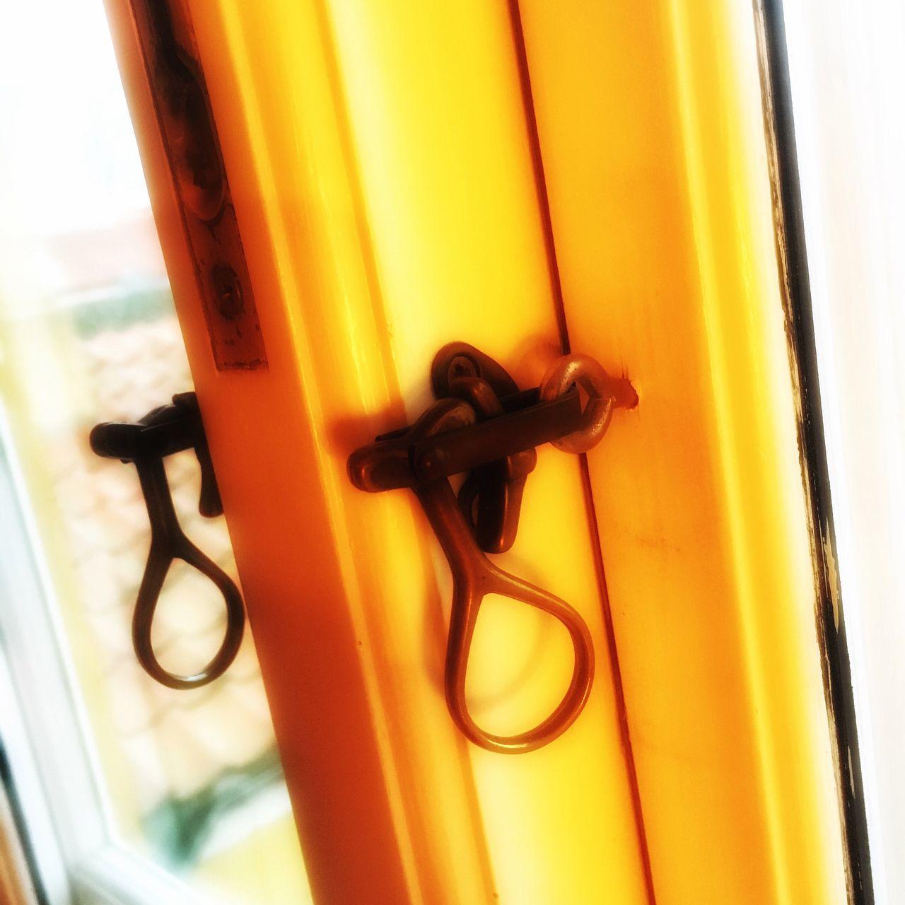 Ribe Denmark Close-up Indoors  Yellow Window Architecture Scandinavia