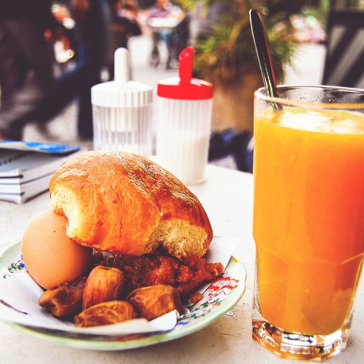 Breaking the fast like the locals Ramadan  Marrakech Breaking The Fast Travel Morocco MoroccoTrip Orange Juice  Dried Dates