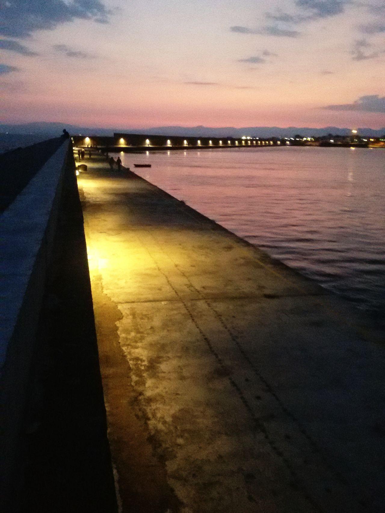 Hidden Gems  Kalamata Port Xiliometro Lights Evening Evening Sky Afternoon Battle Of The Cities Kalamata,Greece