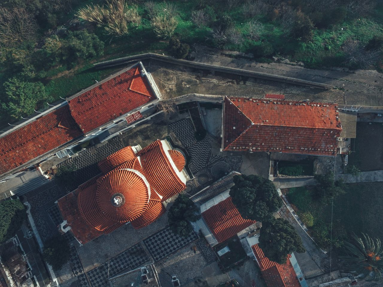 Aerial View Dronephotography Monastery Architecture Religion Religious Architecture Travel Destinations Tranquil Scene Calmness Beauty In Nature Church Architecture View From Above Tranquility Church Built Structure Aerial Shot Drone  Malephotographerofthemonth Morning Light