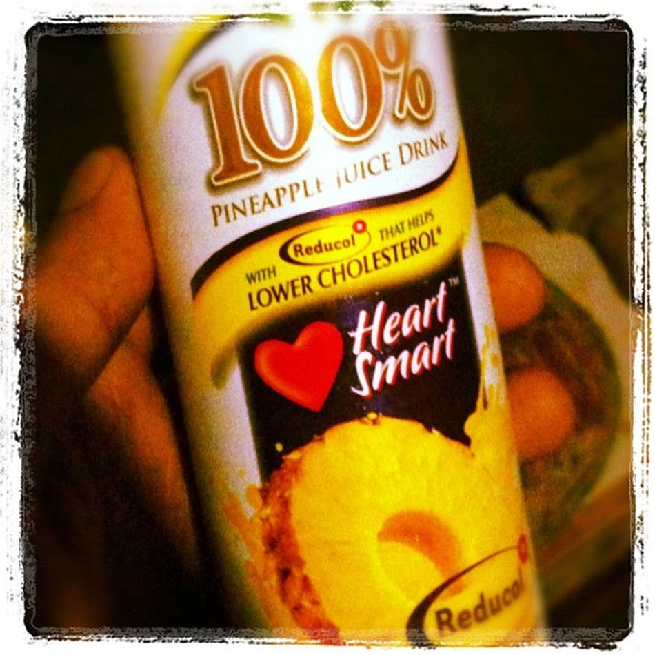 A product to fight cholesterol. Delmonte