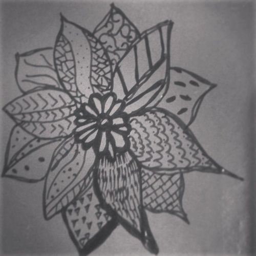 should be cleaning my room but this flower isn't going to draw itself Procrastinationstation Looksok
