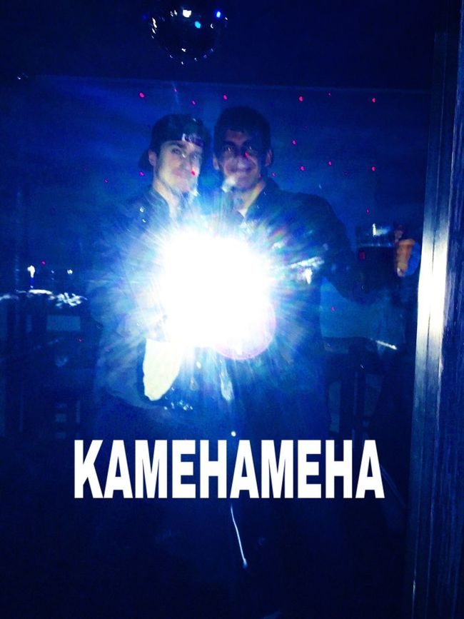 Kamehameha Outgoing Flashlight People People Photography Mirror OpenEdit