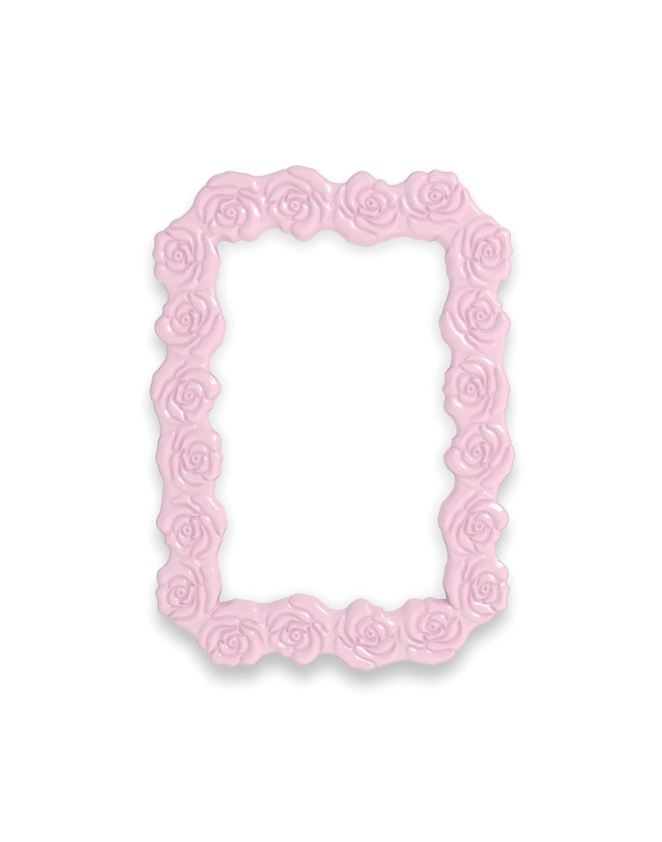 Frame Pink Lilac Plastic Stockphoto Product Photography Blogphotography Printshop Roses Photoframe