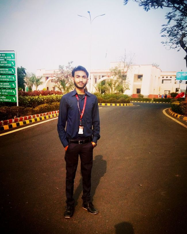The Day at IIMIndore. At the First IEXPO of Central India. Looking At Camera Full Length Business Outdoors Standing Signboard Formals Formal Clothing EventPhotography