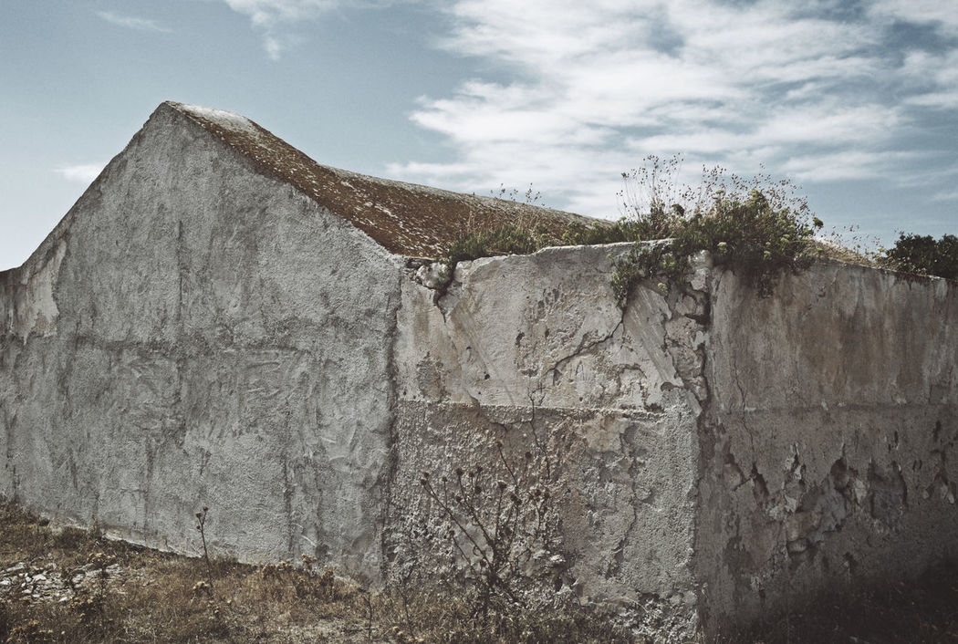 abandoned rural farmhouse in Apulia, Italy Abandoned Abandoned Places Abandonment Aged Ancient Architecture Building Built Structure Cloud - Sky Concrete Dilapidated Farmhouse House Italy No People Outdoors Rundown Rural Stone