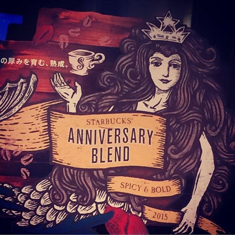 2015.08.31 . . こぉーっそりと꒰*´艸`*꒱ . . Starbucks Starbuckscoffee スタバ Miillains Miillainsはスタバっ子w Miillainsの好きなもの アニバーサリー 2015年9月1日 新作 こぉーっそりw