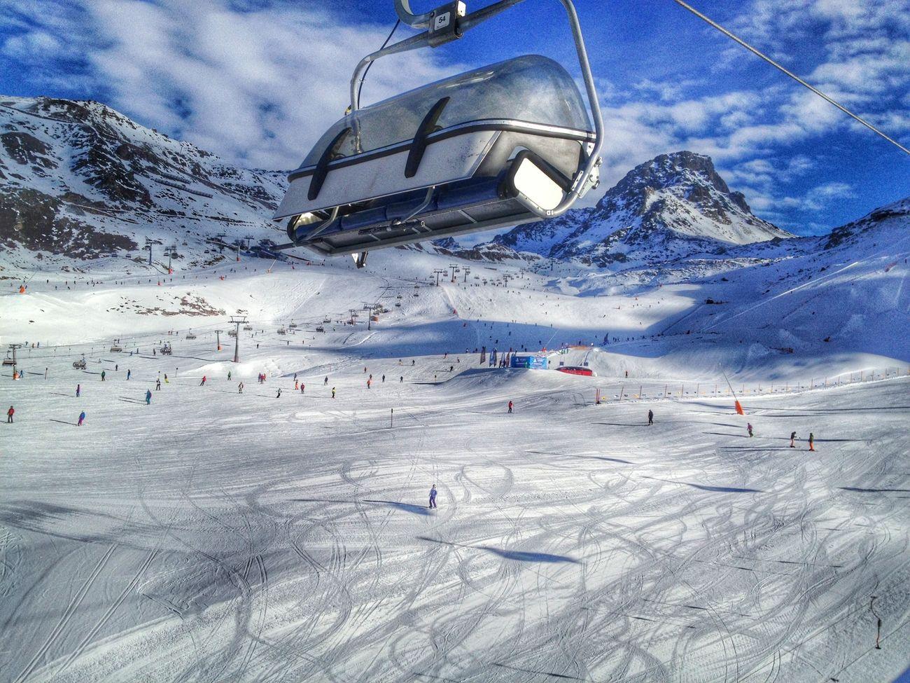 Snow Winter Skiing Enjoying The View