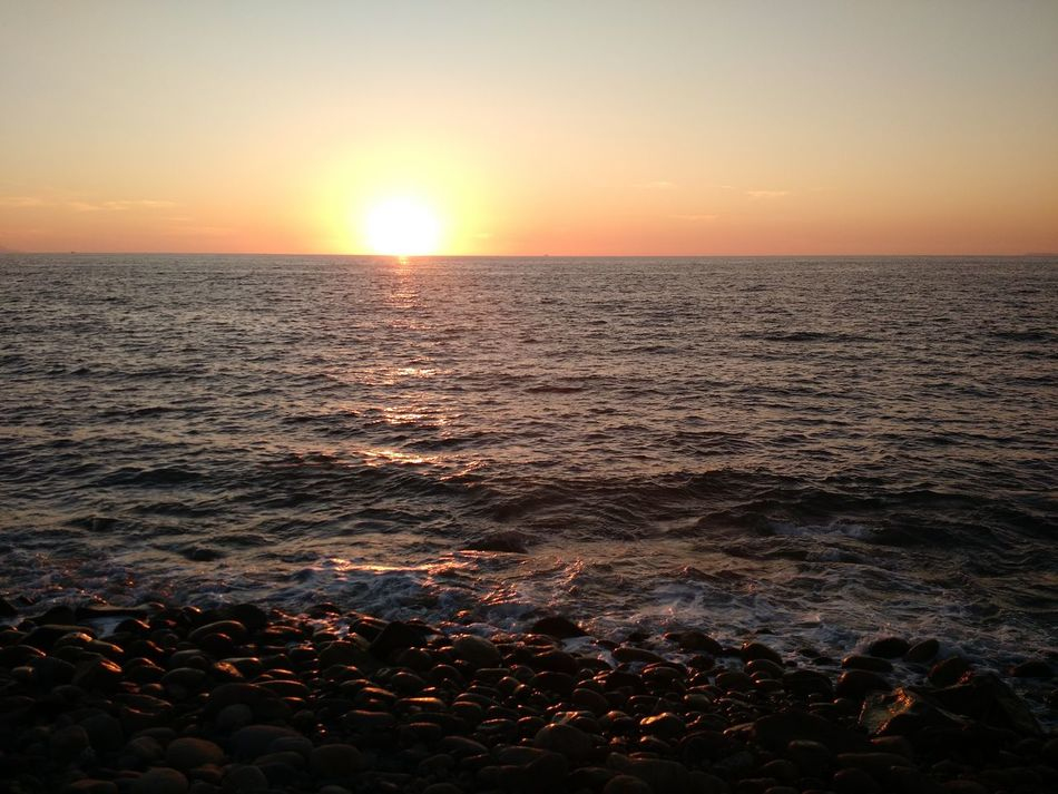 Sunset Sea Tourism Sunlight Beauty In Nature Travel Travel Destinations Water Horizon Over Water Tranquility Scenics Sky Nature Outdoors Landscape Beach No People Day Sunset_collection Sunset Silhouettes Tranquility Mexico Puerto Vallarta Tranquil Scene Mexican Sunsets