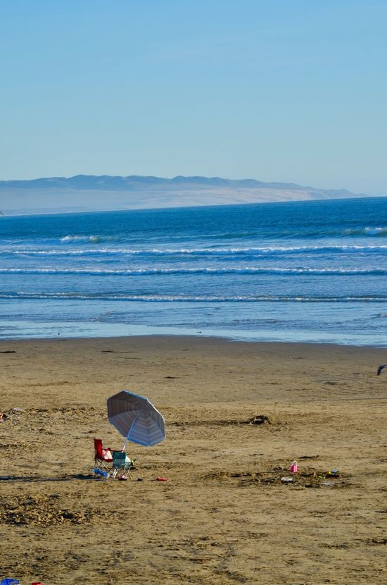 Pismo Beach, Ca. in March 1002