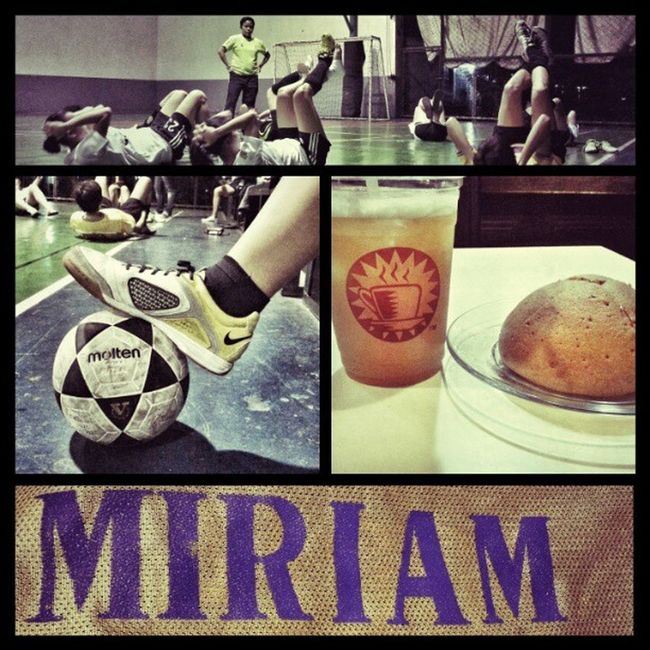 Today's agenda: Futsal and Kopiroti afterwards. MiriamCollege GoodTimes instagramthatshit