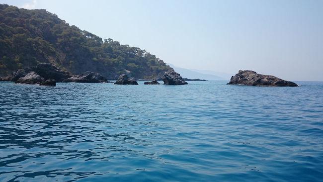 Blue Fethiye Mountain Nature Outdoors Sea Sea And Sky Seascape Turkey