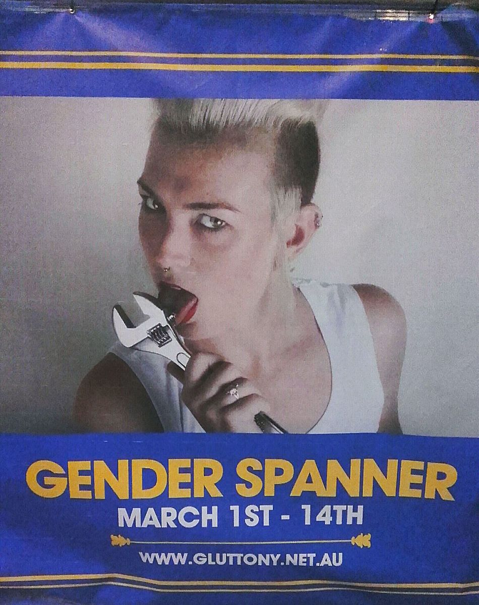Poster Banner Posters Banners Gender Spanner Adelaide Fringe Licking CityOfAdelaide Color Photography Streetphoto_color Street Photography Signs Streetphotography Lick Posterporn Sign Gender Alphabetical & Numerical Lick It Lick Lick Lick Spanner Street Photo Poster Collection Postercollection Advertising Signs