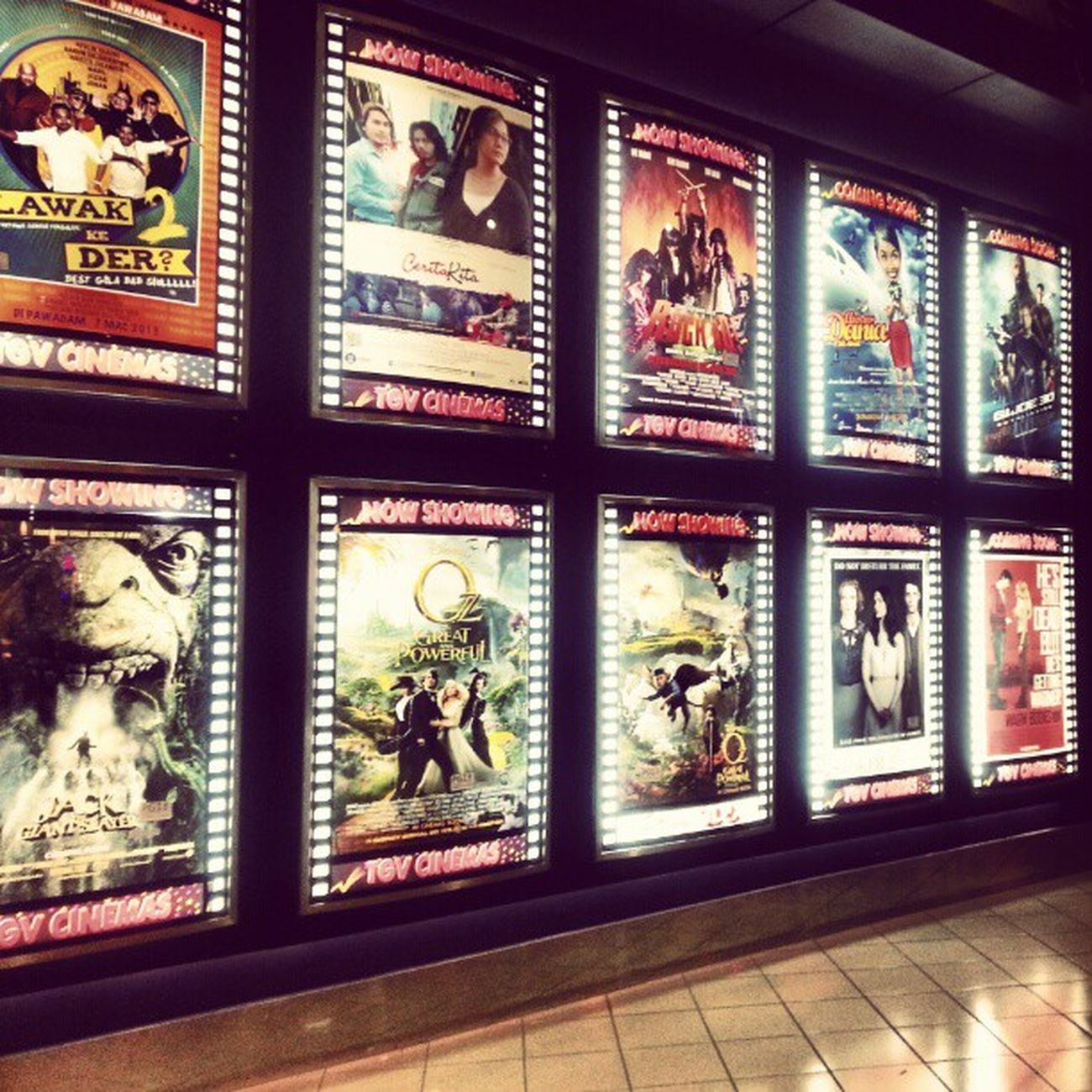MOVIE Moviegoer Movieaddict TGV cinema wangsawalk klnight kl kualakumpur malaysia wizardofoz oz