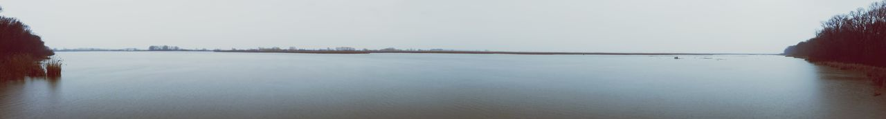 Tranquil Scene Gray Day Marshland  Peaceful View