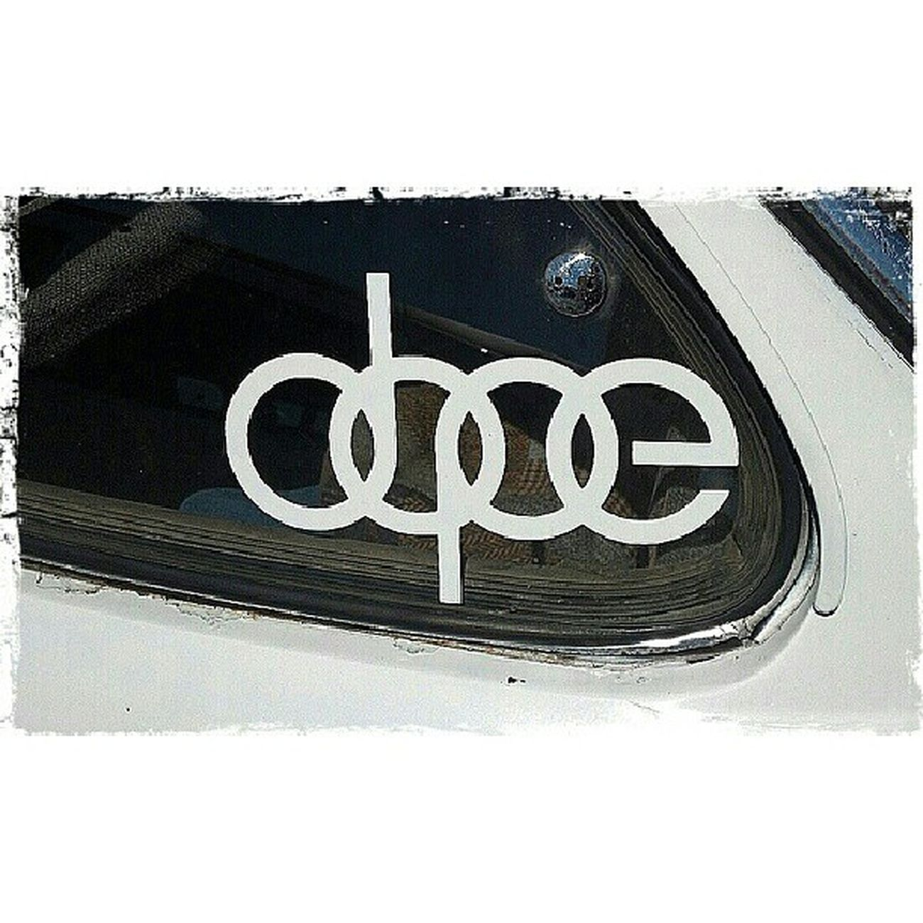 Dope sticker on an old Karmann Ghia. DOPE Sticker Old Cars Karmannghia Portorchardwashington Picoftheday Pictureoftheday DroidRazr