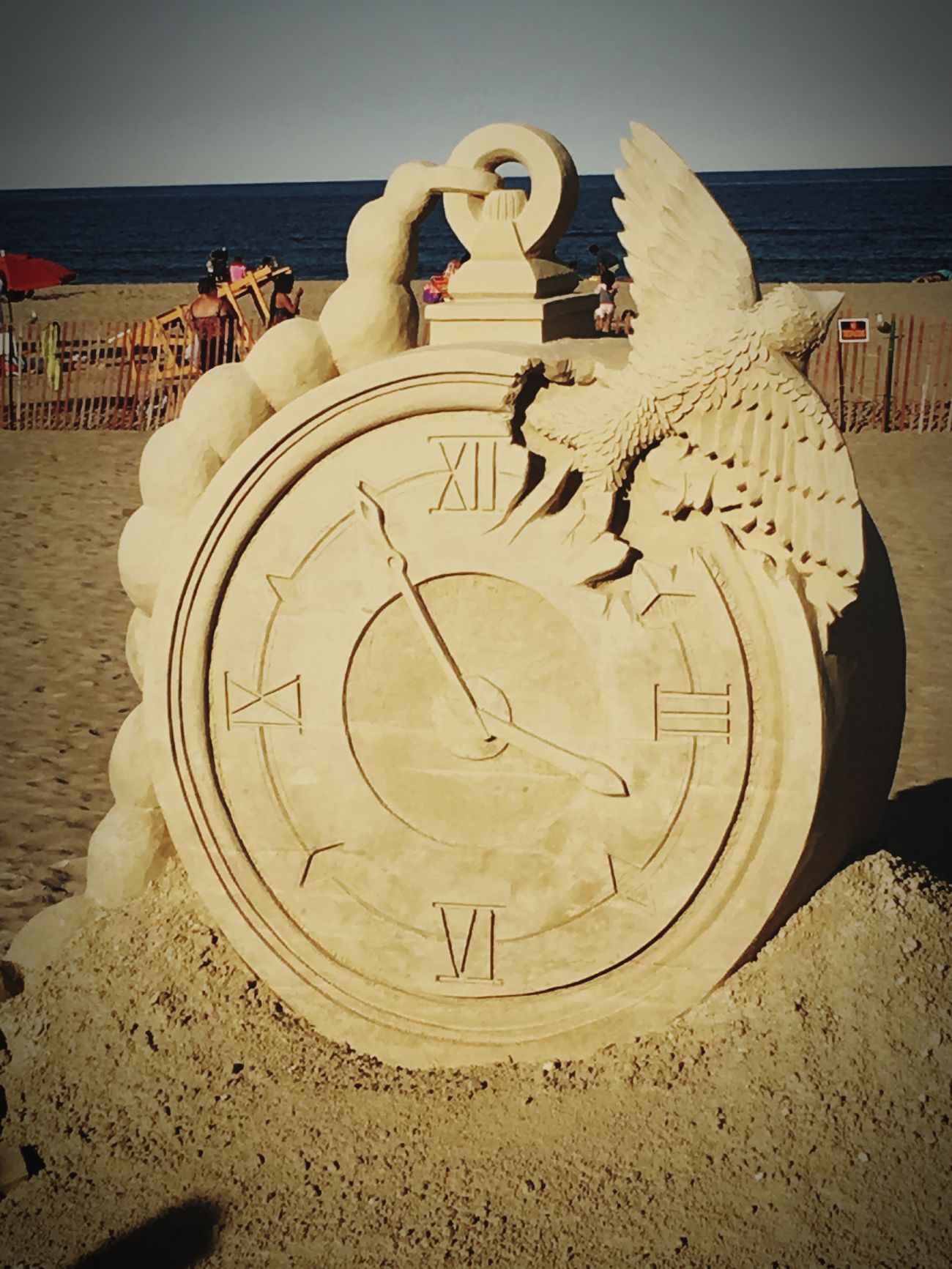 Sand Art Hampton Beach