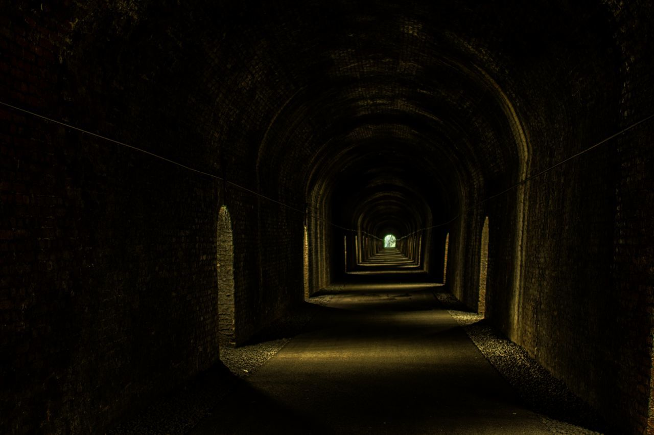 Architecture Cellar Day Durrow Tunnel Indoors  No People The Way Forward Tunnel Tunnel Of Light Tunnel View
