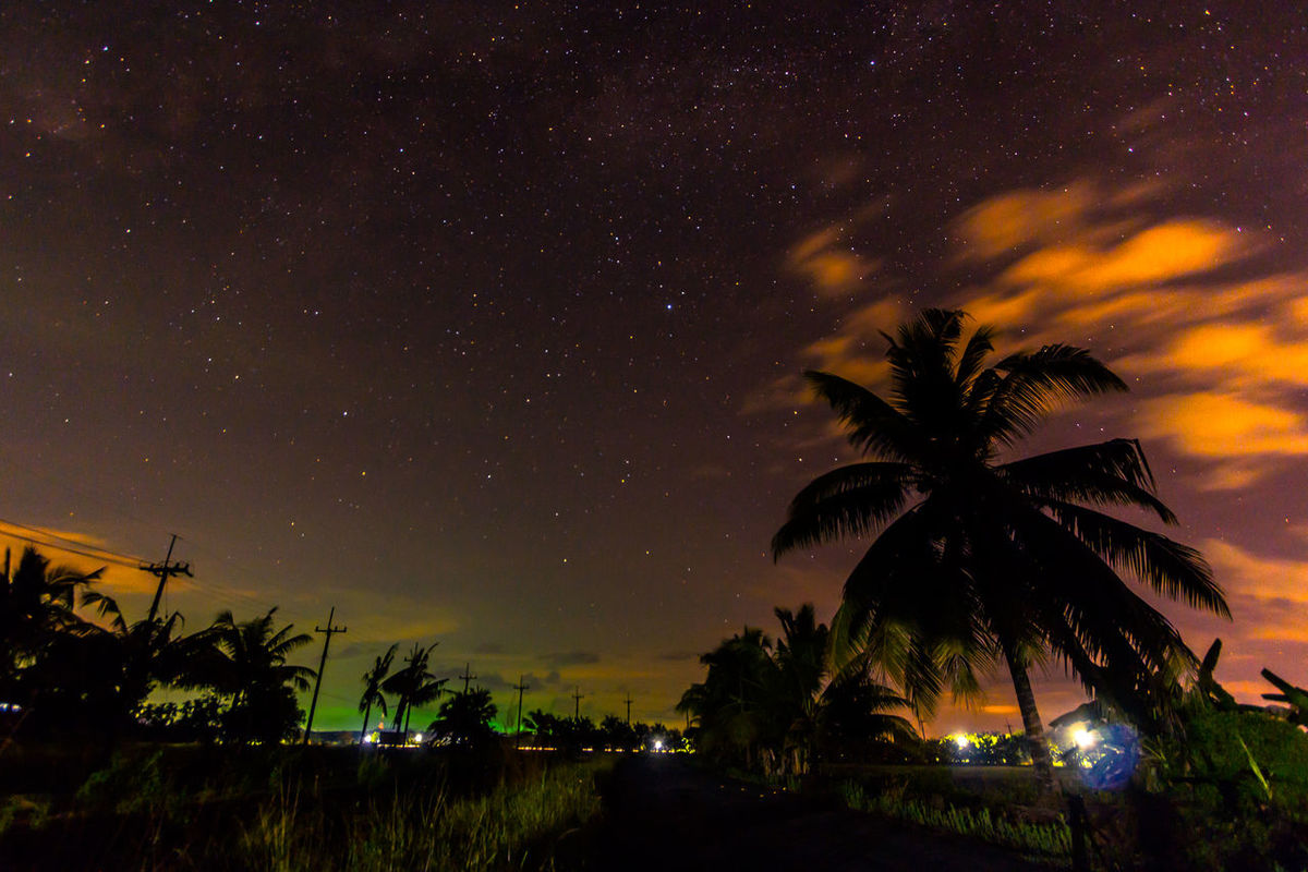small village in thailand Asian Culture Countryside Light And Shadow Night Nightclouds Nightphotography Nightsky Outdoors Sky Star Field Stars Thailand Trat Tree ตราด Cities At Night Battle Of The Cities