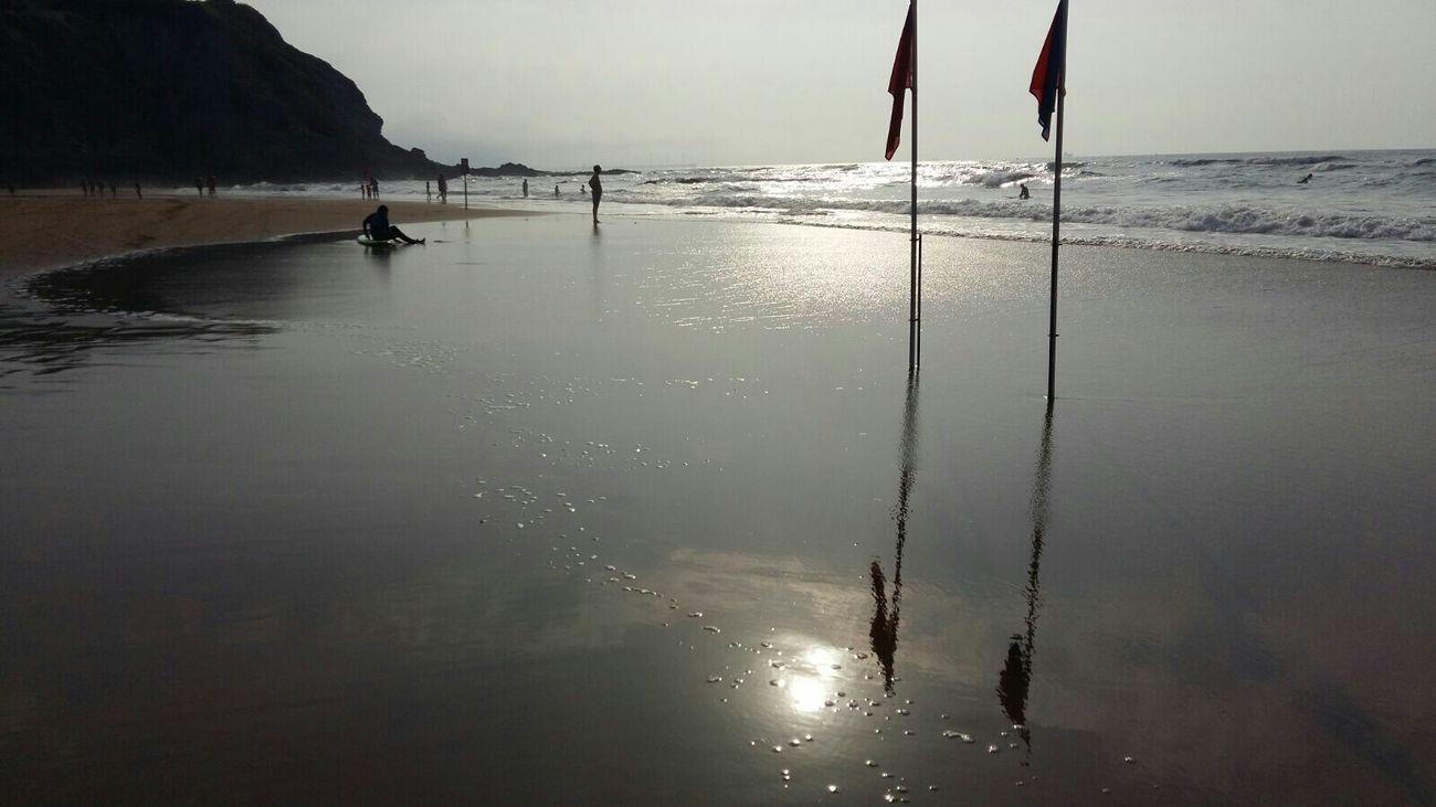 Playa De Sopelana Blanco Y Negro