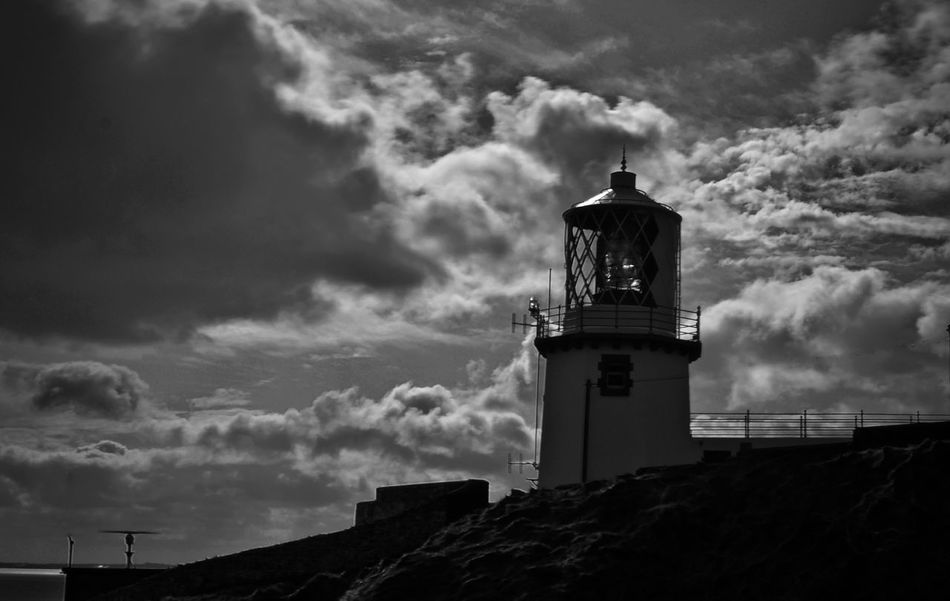 Architecture Blackandwhite Building Exterior Built Structure Cloud - Sky Day Guidance Lighthouse Nature Nikon No People Outdoors Sky Storm Cloud Storm Clouds Tower