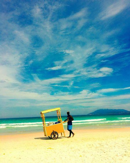 Céu. Mar. Milho. Praia. Cabo frio. First Eyeem Photo
