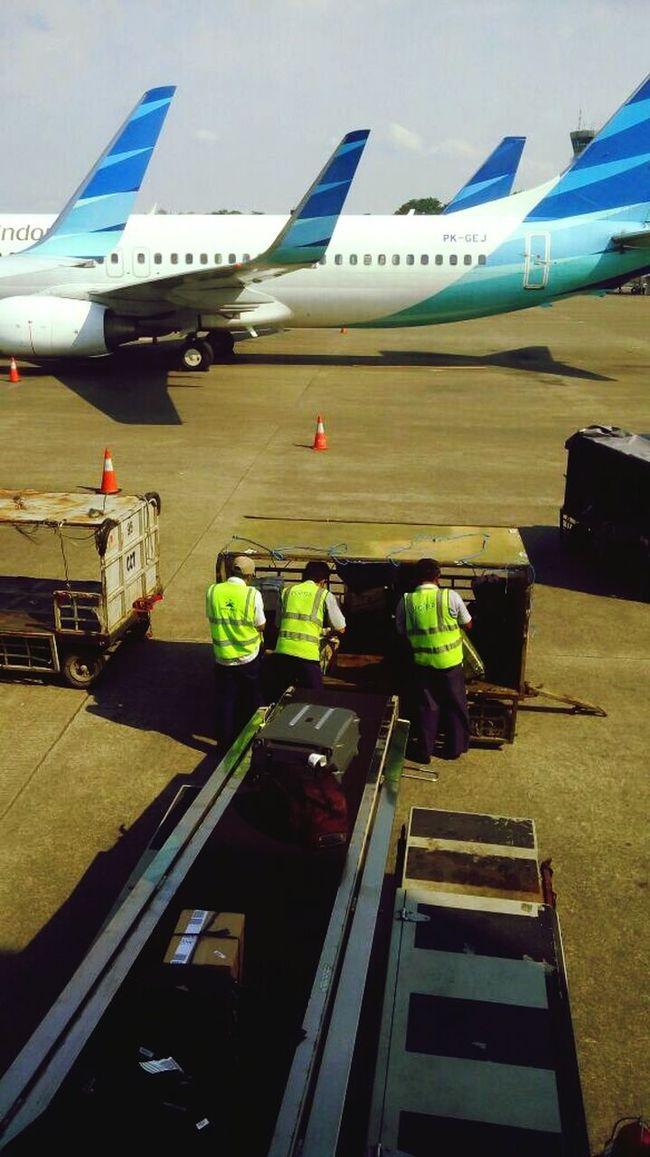 In The Terminal Kualanamu airport (KNO), North Sumatera INDONESIA