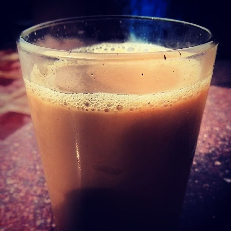 Morning tea at haveli