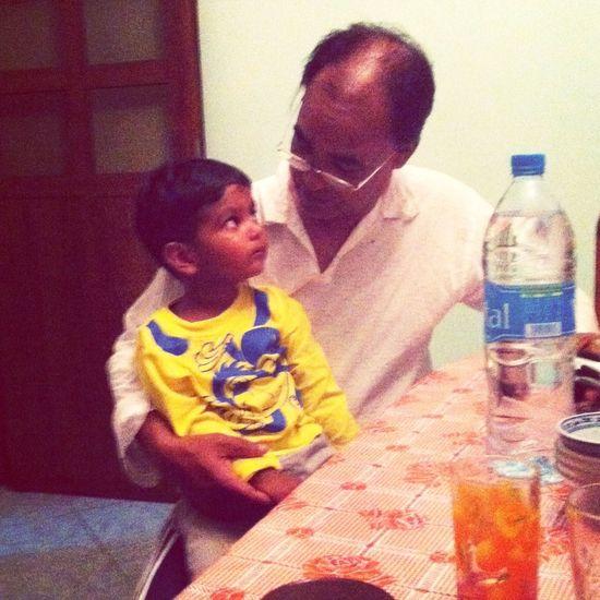 Meeting Grand Dad