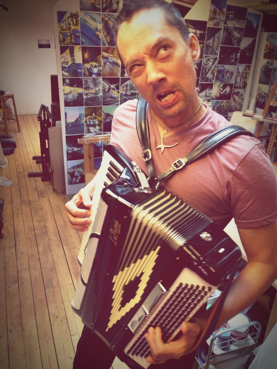 We had a good recording session today. Accordeon