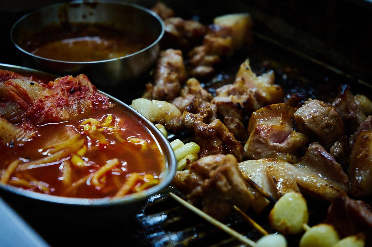 #BBQ #foodporn #kimchi #koreanfood #pork