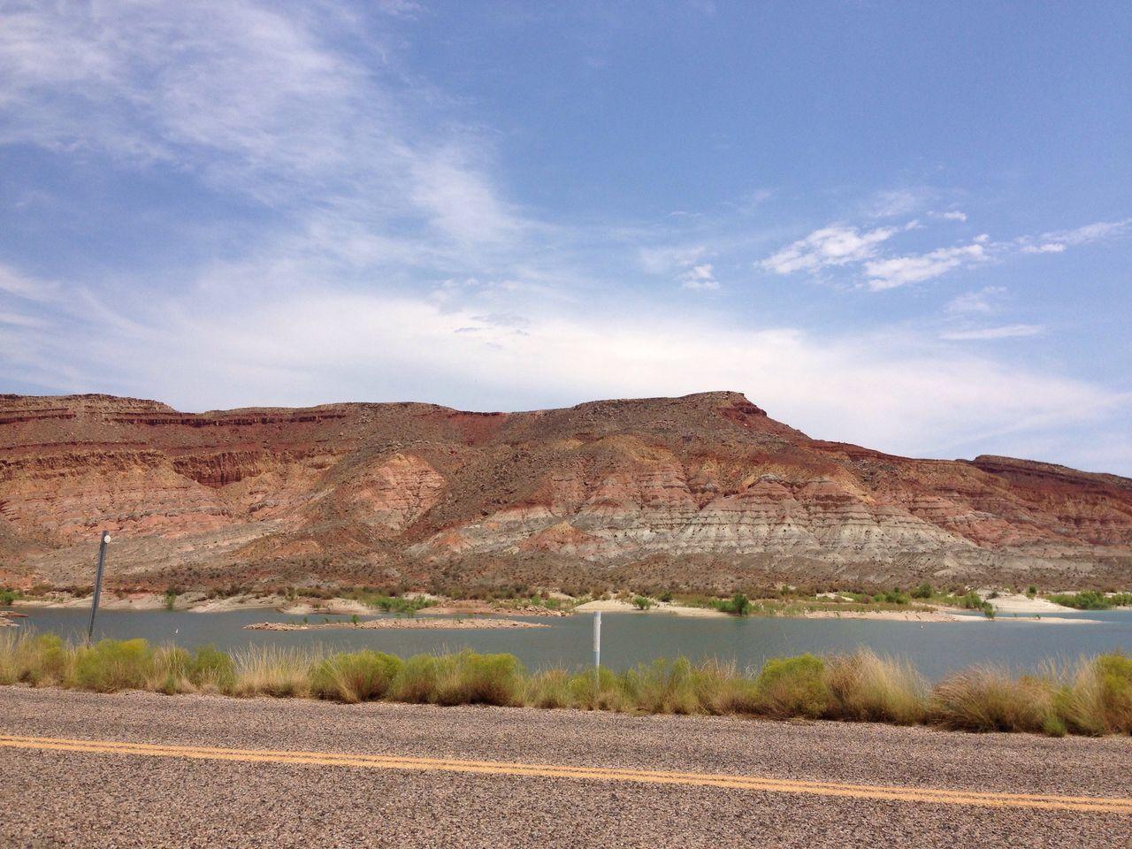 Utah Southern Utah  Qual Lake Leeds, UT Desert Rocks And Water Lake Color