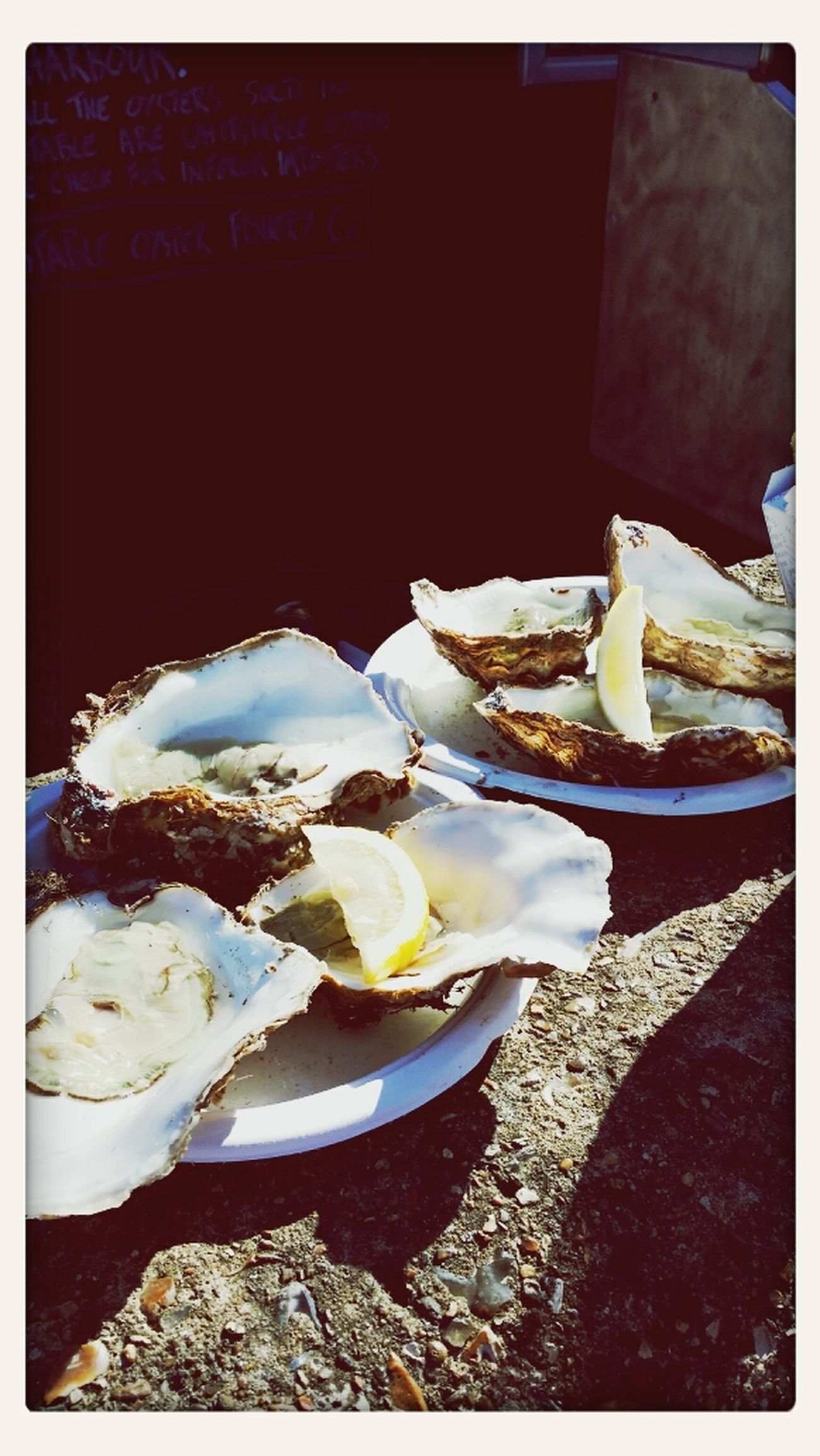 Fresh Whitstable Oysters